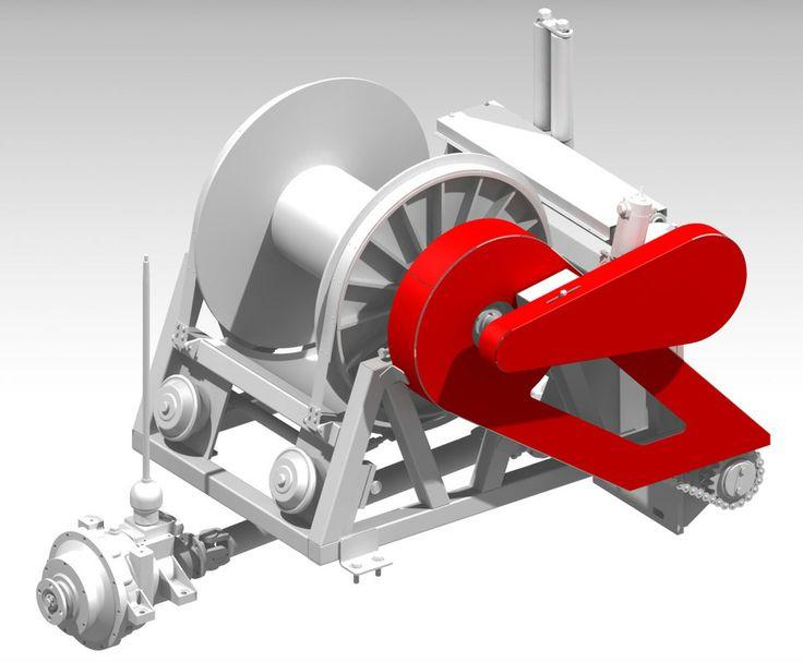 Спуско-подъемный агрегат комбинированный