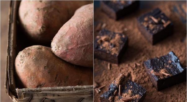 Brownie z batatem