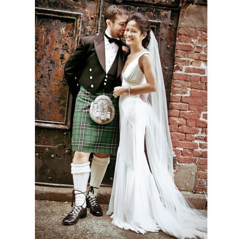 scottish styled wedding