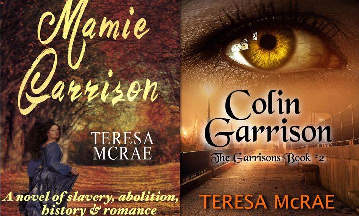 Mamie Garrison Amazon.com/dp/B0182QUN14 .99 and Kindle Unl. Book 2, Colin Garrison Amazon.com/dp/B0759MYN81 .99 and Kindle Unlimited