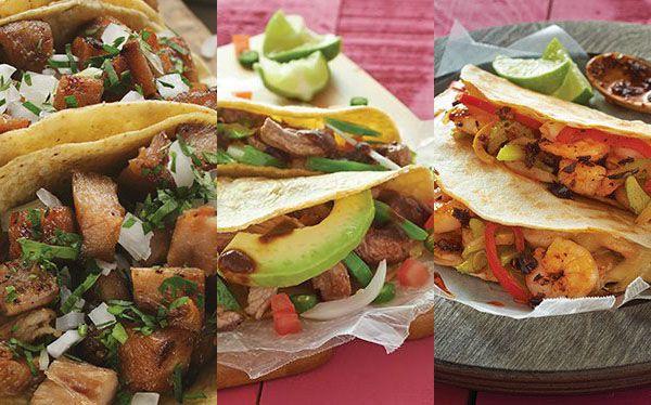 7 fabulosas recetas de tacos