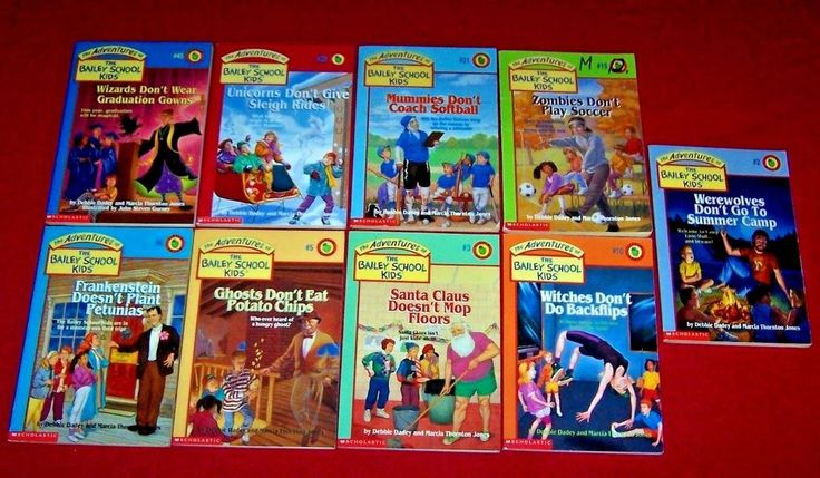 Bailey school kids 9 childrens chapter books ages 710