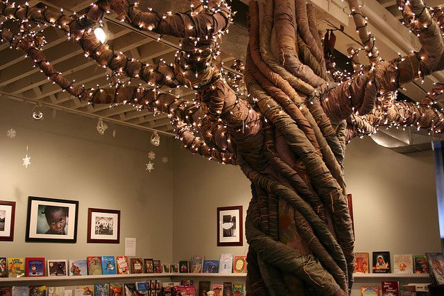 Reading tree. Stuff like this is why my dream job is the sadly no longer existent full-time elementary school librarian.
