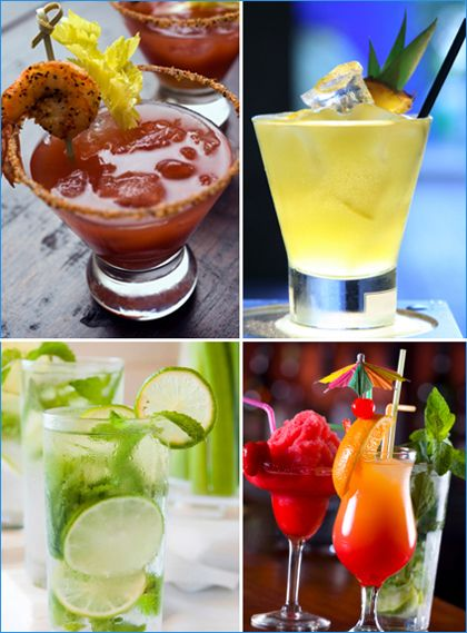 Cocktail Garnish Ideas - Hostess with the Mostess®