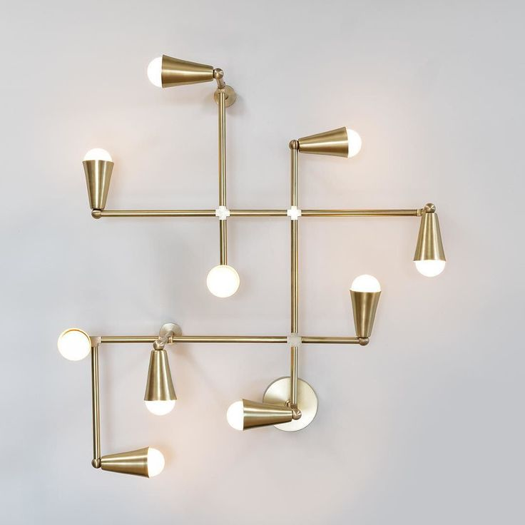 """arclique: """" """"#LightmakerStudio designs and creates unique brass lighting in #Toronto. Large sculptural pieces combine the natural and industrial, while rich materials like cast brass and hand blown..."""