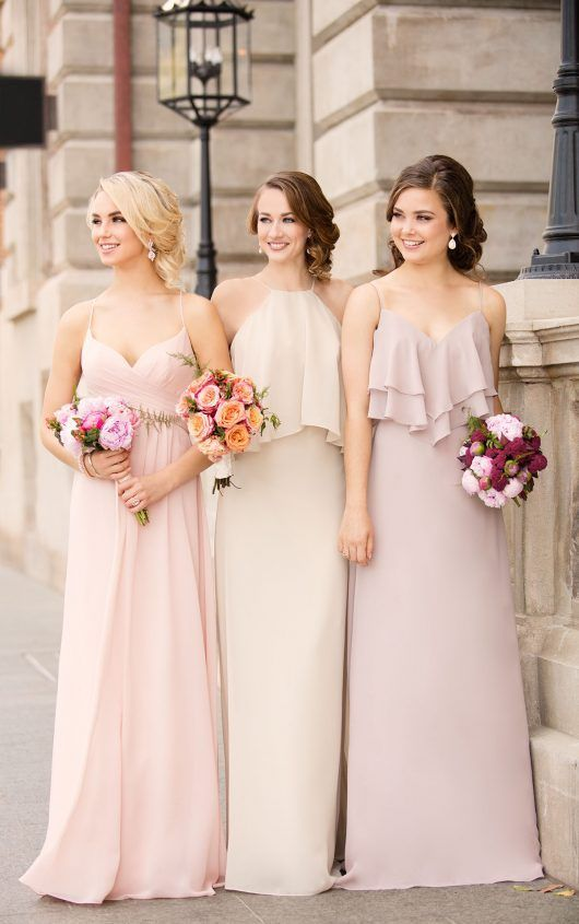8796 Boho Chiffon Bridesmaid Dress by Sorella Vita www.abrideschoiceup.com #weddinginspiration #weddingideas #weddingplanning