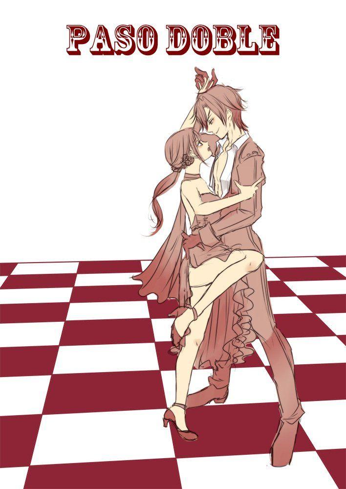 """tsugumi on Twitter: """"燭台切とパソドブレ。男性は誇り高き闘牛士(マタドール)女性はカポーテ(闘牛に使う赤い布)をイメージして踊るめちゃくちゃ格好良いダンスです。大好き! #刀と踊る https://t.co/Xsi4CPsQ8f"""""""