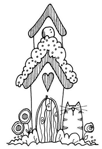 Free Birdhouse Drawings WoodWorking