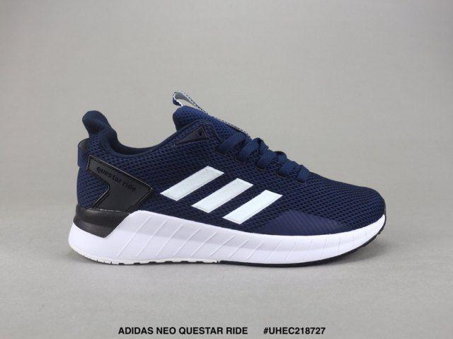 Mens Shoes Adidas Neo Questar Ride Navy