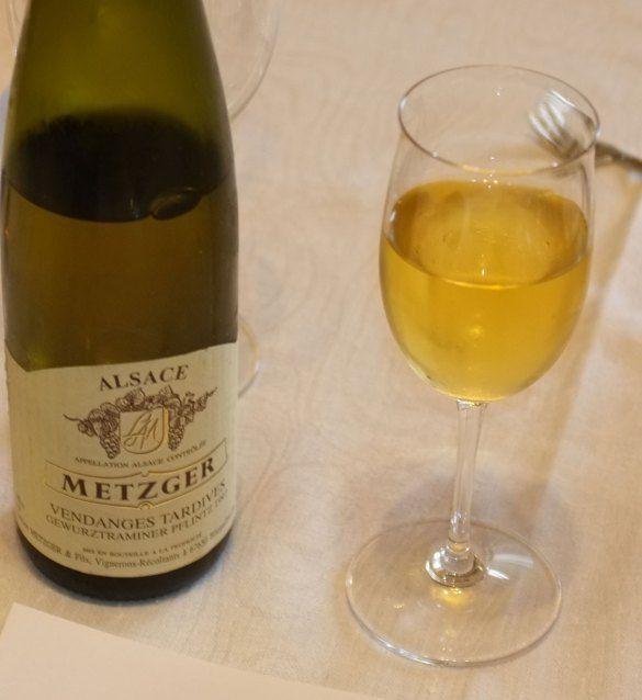 Metzger, Vendanges Tardives, Gewurztraminer Pflinz 1997, Alsace, France
