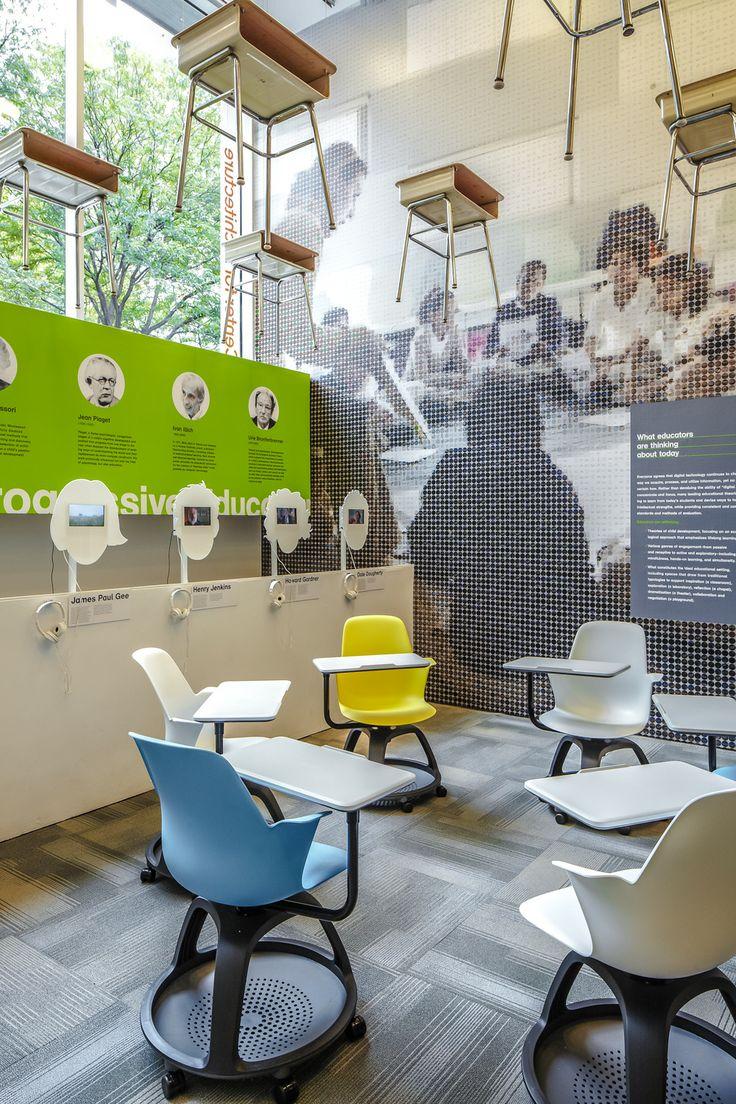 Hyperakt » Work » The Center for Architecture » The Edgeless School: Design for Learning