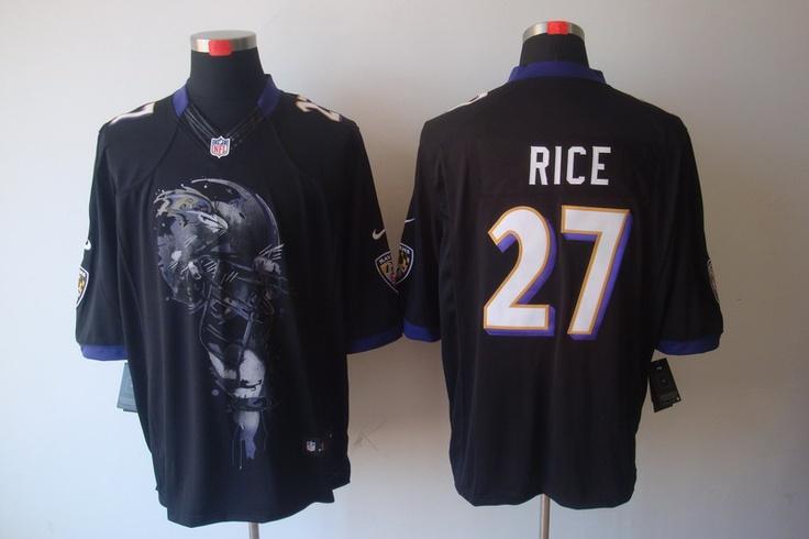 Black Ray Rice Jersey, Nike Baltimore Ravens #27 Mens Helmet Tri ...