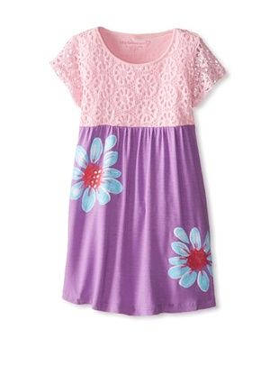 40% OFF Design History Girl's 2-6X Dress with Flowers (Tickled Pink/Amethyst)