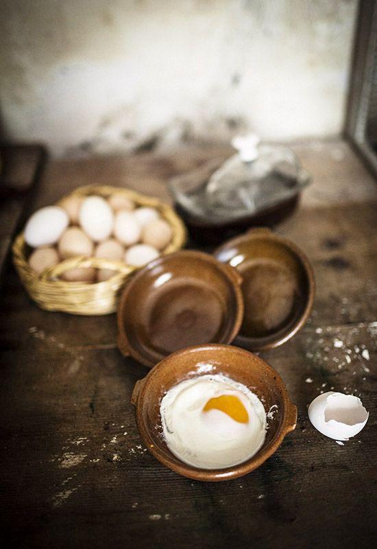 Receta 461: Manera de hacer los huevos al plato » 1080 Fotos de cocina