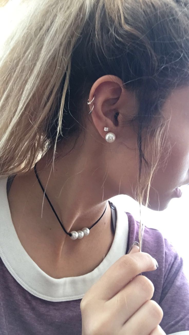 3rd piercing ideas   best Just images on Pinterest  Piercing ideas Earring set and