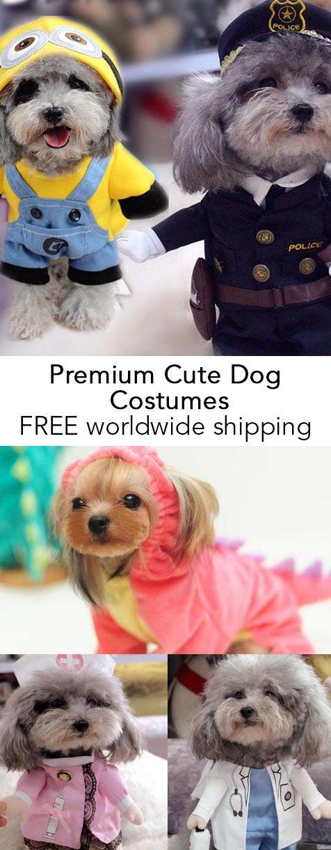 Premium Cute Dog Costumes