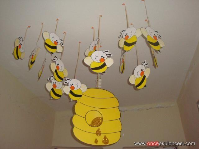 okul öncesi arı duvar süsleri - Google'da Ara