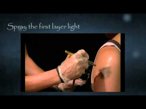 ▶ Long Lasting Temporary Airbrush Tattoo Ink Tutorial - YouTube