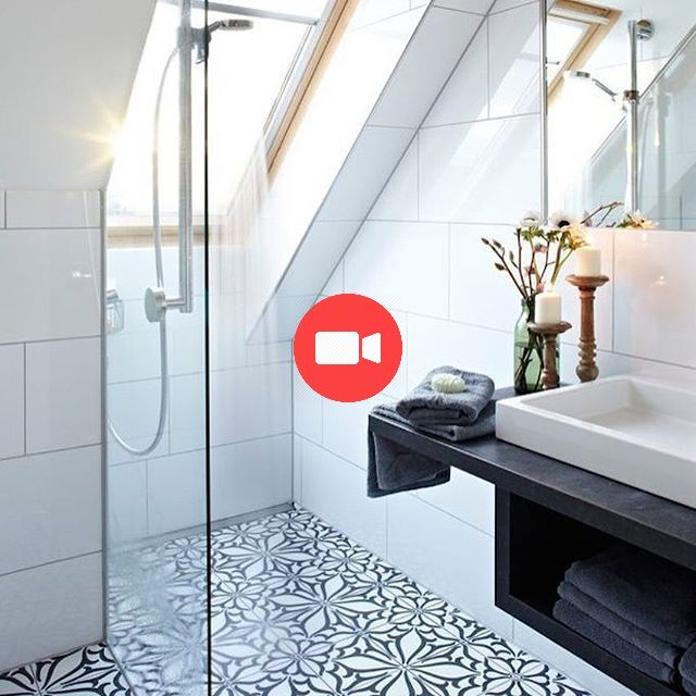 Teilen Sie Noch Heute Unsere Top Pins Im Blog Liebe Diesen Uber Houzz De Sch Atticideas Atticdecorationideas With Images Attic Shower Bathrooms Remodel Shower Room