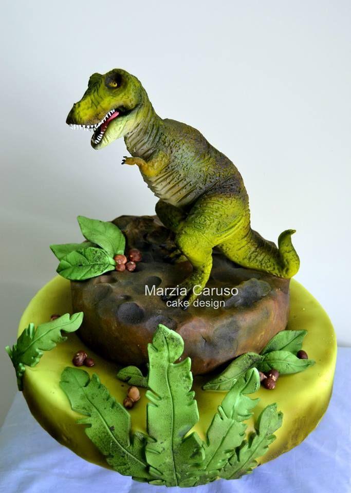 Cake Design Dinosaur : 17 Best images about Dinosaur cakes on Pinterest ...