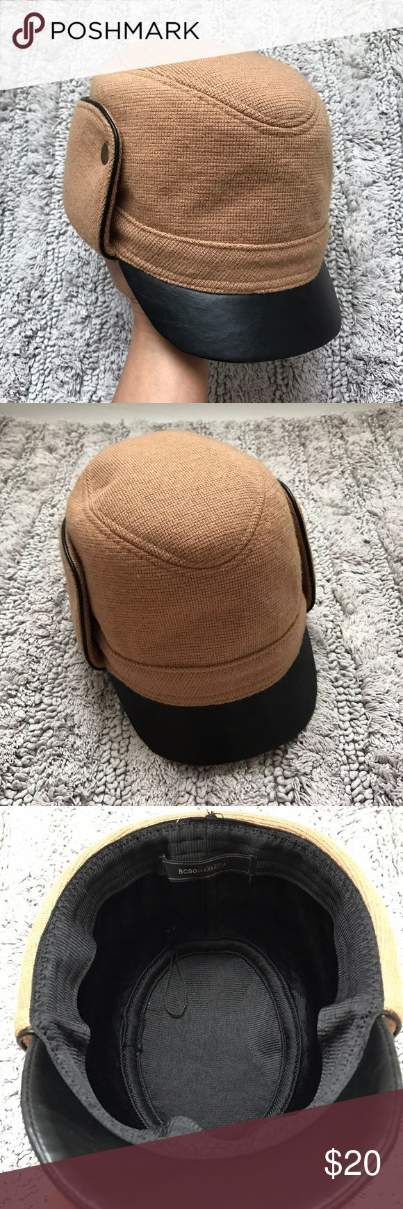 BCBG Pilot Hat 🎩 Never worn hat. I bought this hat because I thought it looked super cool, but I never figured out how to wear it since I'm not a hat person 😩 BCBGMaxAzria Accessories Hats