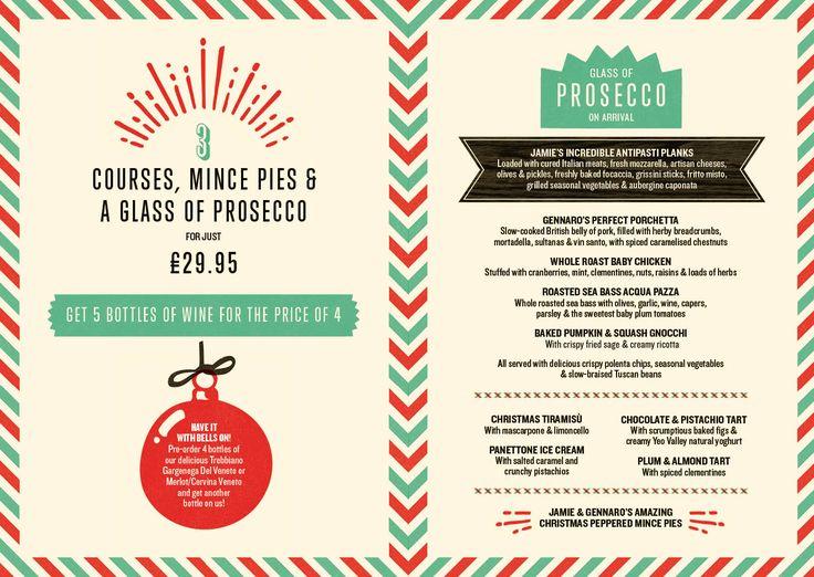 Best christmas menus images on pinterest