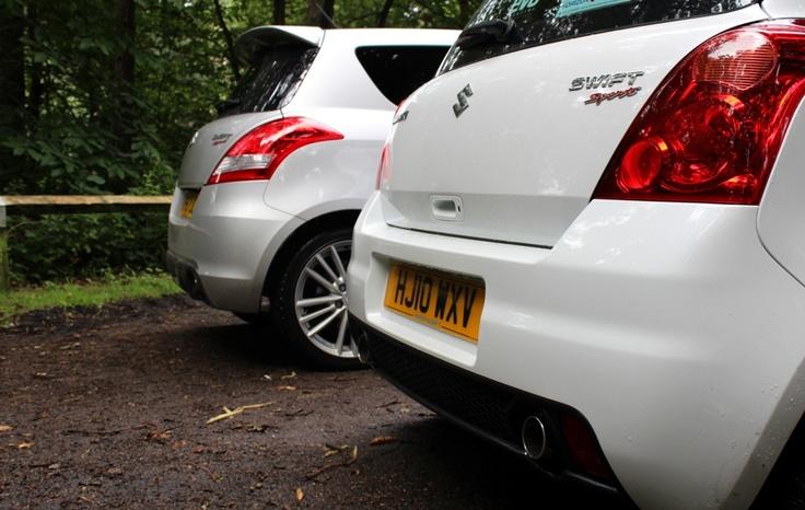 Suzuki Swift Sport Rears