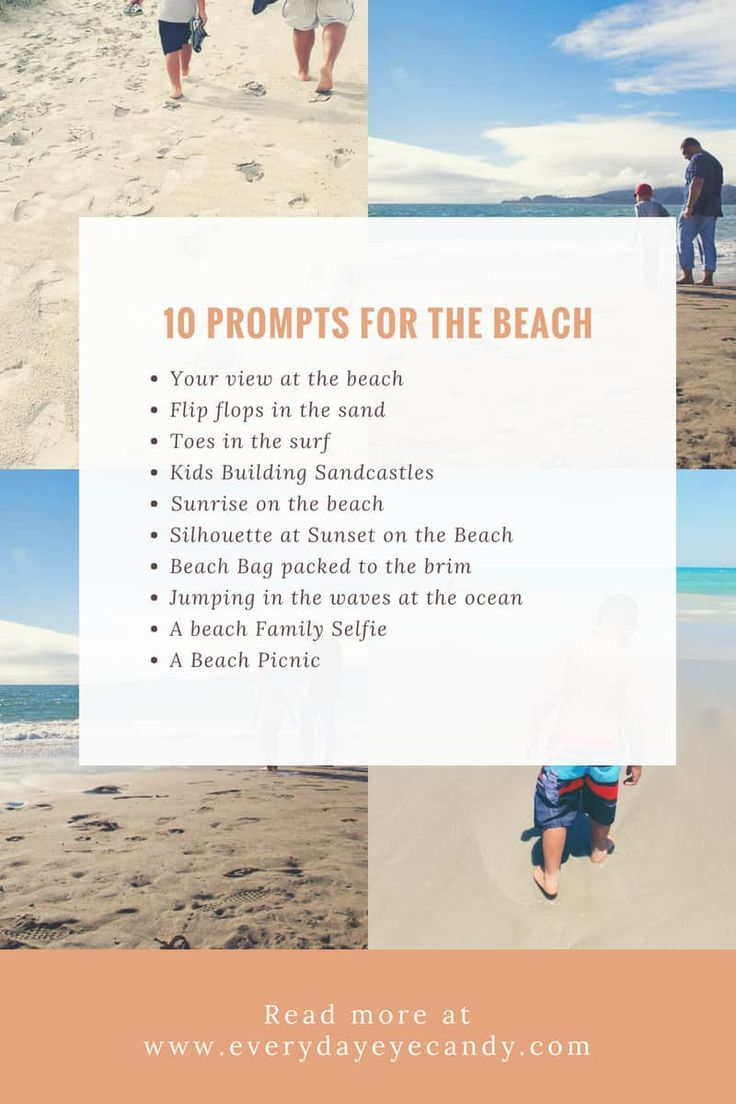 5 Easy Tips For Taking Photos At The Beach – Everyday Eyecandy