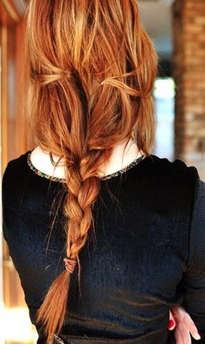 .: Braids Hairstyles, Hair Colors, Red Hair, Long Hair, Messy Braids, Hair Style, Redheads, Messybraids, Redhair