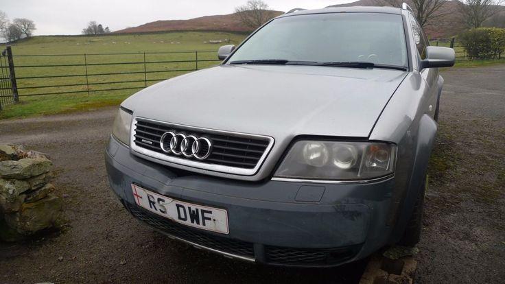 eBay: AUDI A6 ALLROAD 2.5 TDI QUATTRO AUTO ESTATE Spares or Repair Private Plate #carparts #carrepair