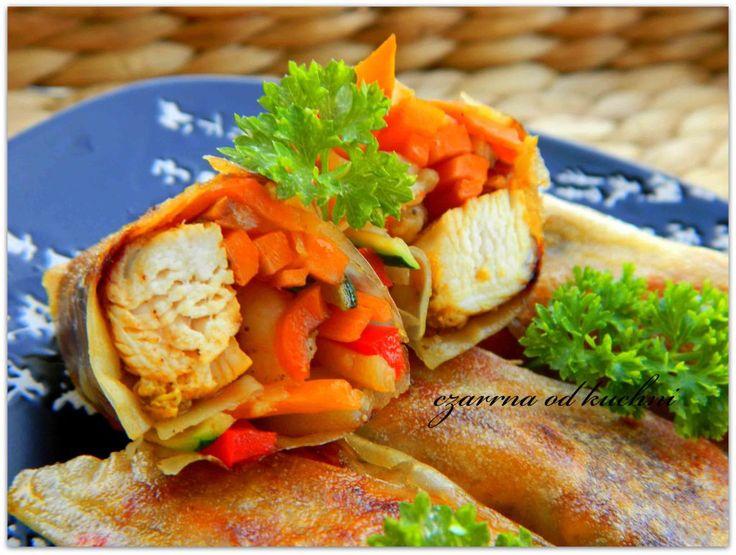 Sajgonki z kurczakiem i warzywami2