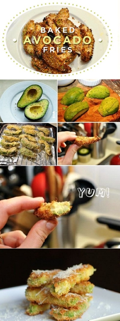 OMG Baked Avocado! Can't wait to make...