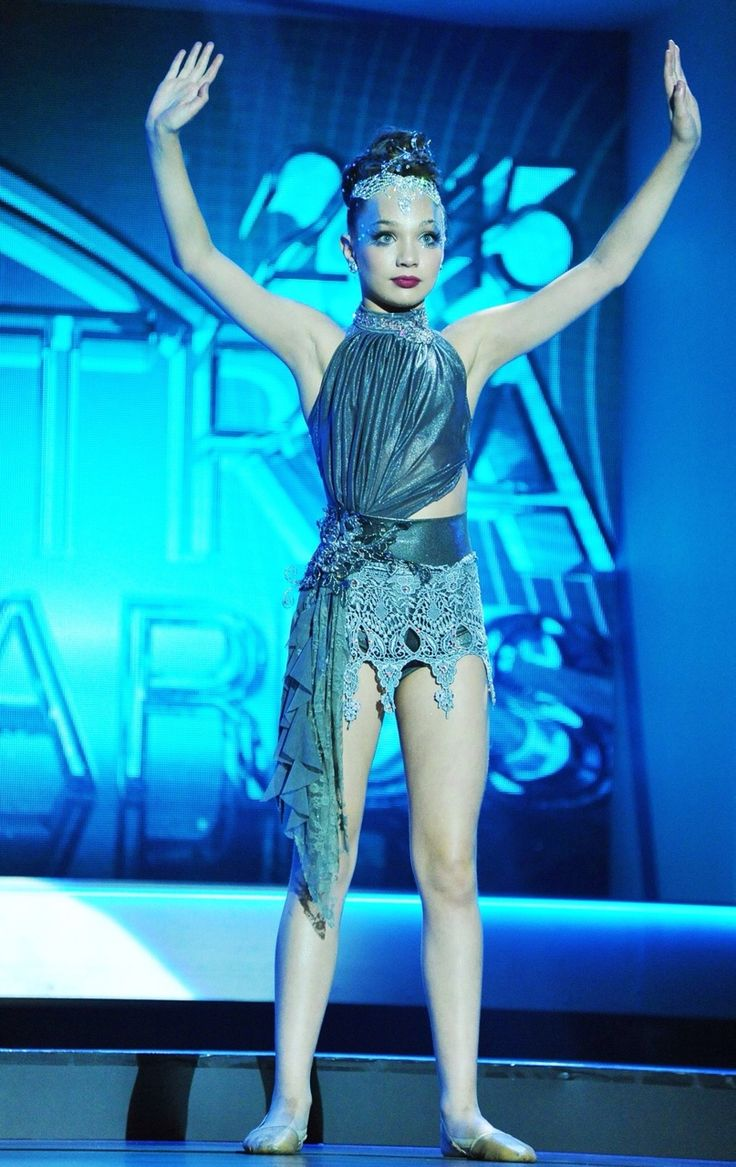 Maddie Ziegler performing Chandelier at the 2015 ASTRA awards in her Details…