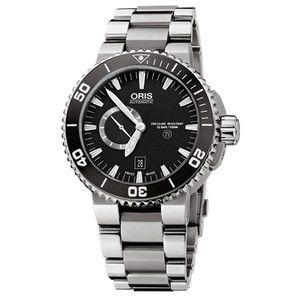 オリス/腕時計 メンズ/ダイバーズ ウォッチ アクイス/チタン 733.7653.4153M
