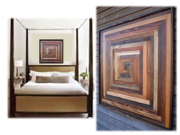 Wood Wall Hanging Art Part - 48: Reclaimed Wood Wall Hanging Art Sculptures Large Rustic Modern Abstract  Transitional Decorative Textured Custom Quilt Designs