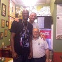 Lamar stopped by without Khloe for a quick bite at Big Mama's and Papa's Pizzeria!