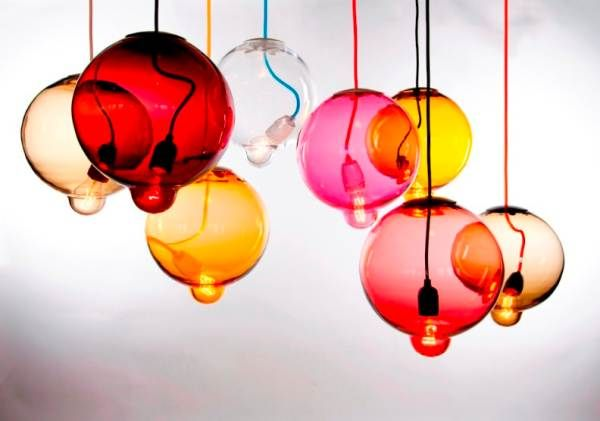 Beautiful Pendant Light Design and Its Type: Colorful Cappellinis Meltdown Lamp Modern Pendant Lighting Design ~ novavn.com Lamps Inspiration