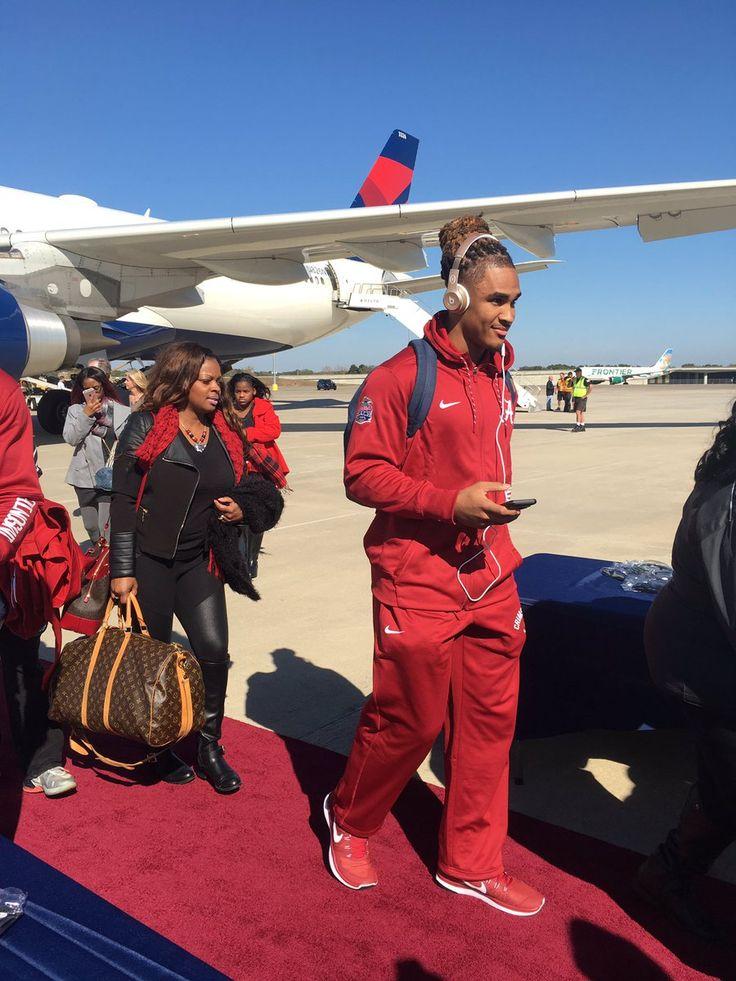 Jalen Hurts Tampa, Florida preparing for the National Championship game (2016)