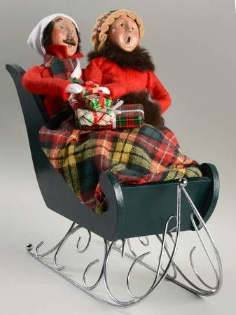 56 best BYERS CHOICE images on Pinterest | Caroler, Basket and Benches