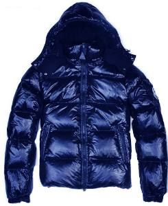 mens jackets sale online Moncler Mens Auburn Quilted Down woman Jacket Blue