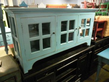painted buffet sideboards | Current Painted Inventory - eclectic - buffets and sideboards ...