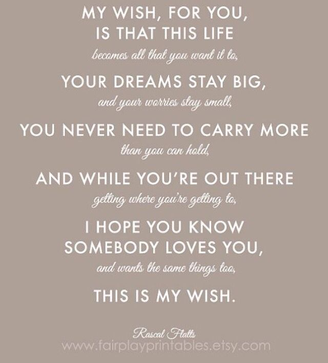 Positivity Wish