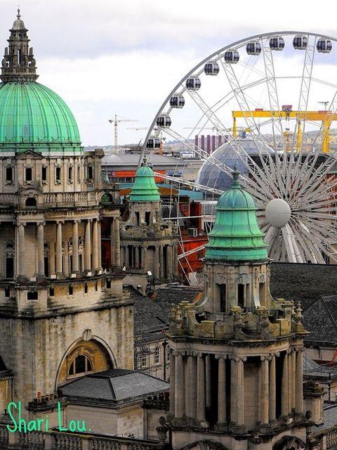Belfast City, Severní Irsko-Mum vždycky říkal, že tam byl černý irish do hromady dřeva!