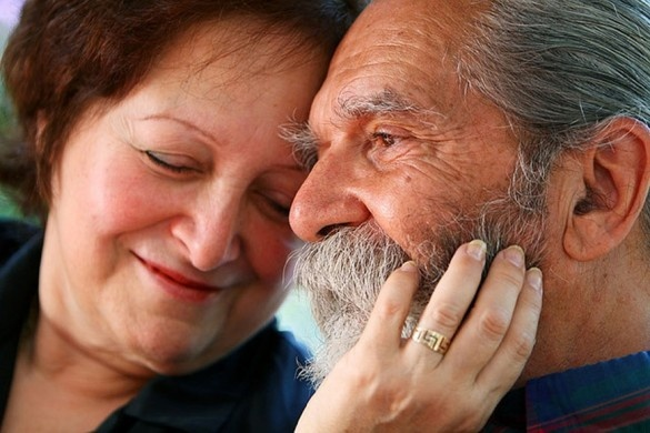 Baby boomer couple - love their character - not plastic like the young couples!