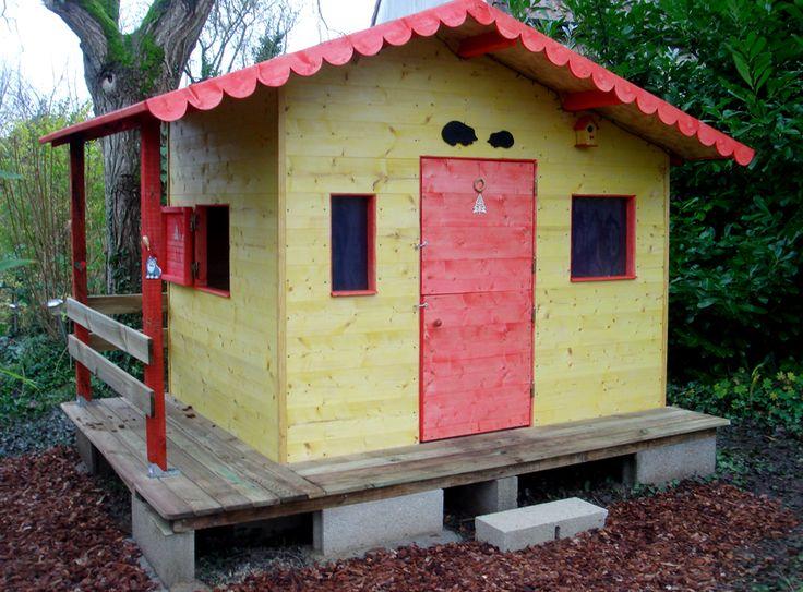 Les étapes de la construction de la cabane de ma peite-fille: http://mamaisonnette.blogspot.fr/