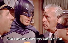 batman shark adam west that exploding shark was pulling my leg trending #GIF on #Giphy via #IFTTT http://gph.is/2d3ymSq