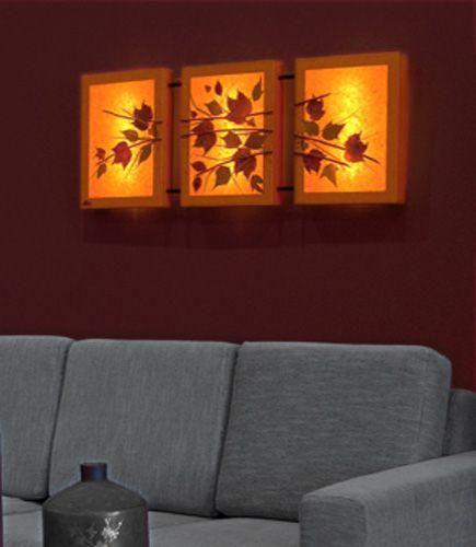 Τριπλό φωτιστικό τοίχου Satinka, με αληθινά φύλλα και συνθέσεις εμπνευσμένες από τη φύση. Φωτίζει ατμοσφαιρικά το χώρο, τοποθετημένο στον τοίχο πάνω από το κρεβάτι ή τον καναπέ. Δείτε όλα τα φωτιστικά της σειράς Floral Chic στη σελίδα http://www.artease.gr/fotistika/floral-chic/