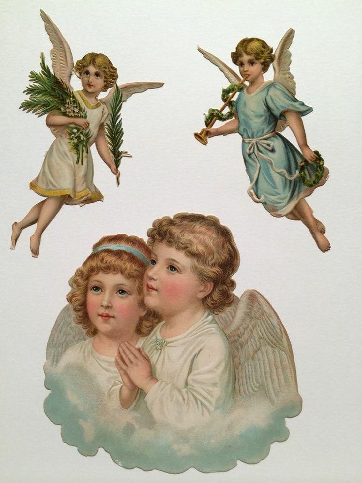 Boy Angel Christmas Ornaments