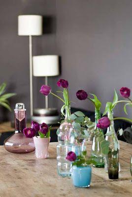 Paars interieur met accesoires van Rie Elise Larsen | villa d'Esta | interieur en wonen