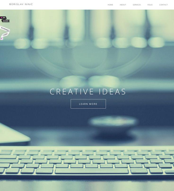 20 Super Cool Single Page Web Sites | DesignWoop
